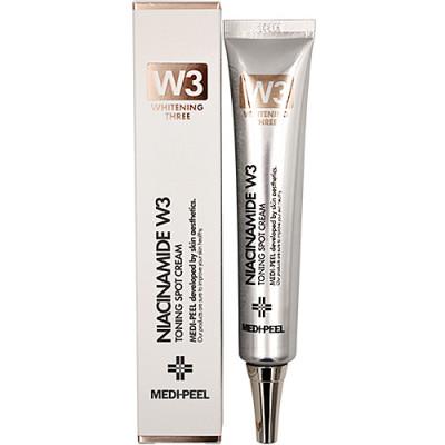 Крем осветляющий с ниацинамидом Medi-Peel Niacine w3 toning spot cream 50мл: фото