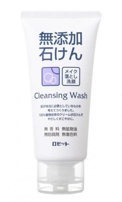 Пенка для умывания без искусственных добавок Rosette Foam for washing and removing makeup 120г: фото