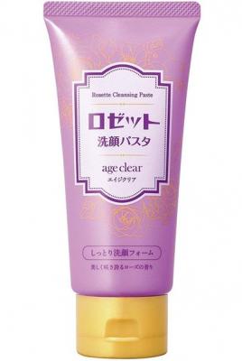 Кремовое средство для умывания для сухой зрелой кожи Rosette Face wash foam for dry skin 120г: фото