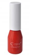 Помада-тинт увлажняющая с аппликатором Koji Honpo C-Tive Lip Gloss Tint Akadaidai тон № 03 красно-оранжевый: фото